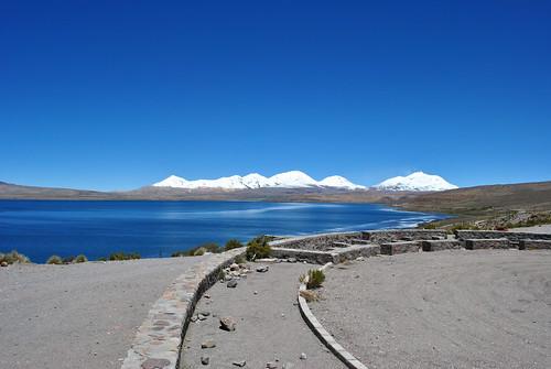 Volcanes Acotango y Guallatiri