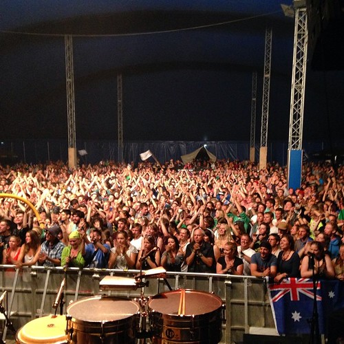 Chiemsee festival. Germany. The last show of our euro tour. We partied in 12 countries in the past 7 weeks. Thanks to everyone That came and joined us! We all fly back to australia tomorrow with a smile. #tcedoeuro #andietheroadie
