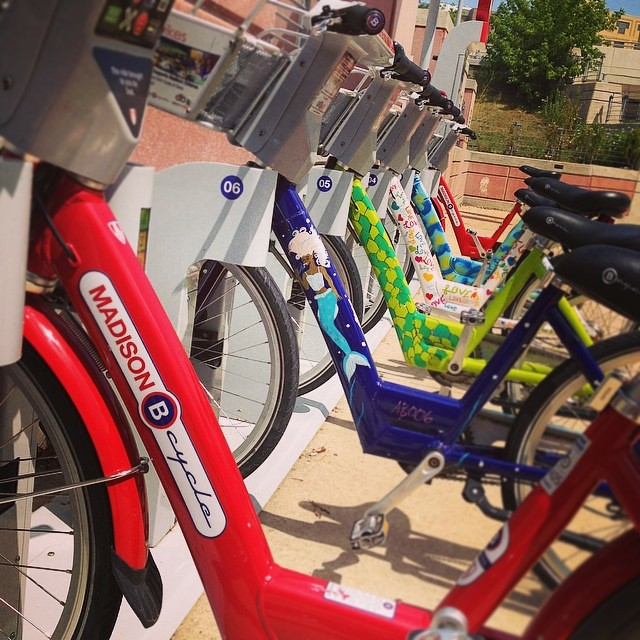 Bcycle and the Artbikes