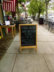 downtown (jessicabragen) Tags: ocean bridge roses summer beach inn downtown nj shore sunflower jersey shops boardwalk jerseyshore oceangrove oceangrovenj jerseystrong