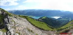 IMG_0927 - IMG_0934 (Pfluegl) Tags: wallpaper panorama mountain lake mountains alps berg see view lakes christian berge alpen seen wolfgangsee schafberg hintergrund pfluegl hugin attergau pflgl salzbkammergut
