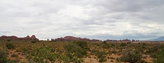 Arches NP Panorama (•Nicolas•) Tags: 2014 america desert holidays red redrocks roadtrip rock travel unitedstates usa nicolasthomas