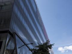 London 2014: Cheapside façade (mdiepraam) Tags: uk sky london clouds facade britain façade cityoflondon londen 2014 onenewchange