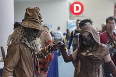 Scarecrows at the ball (Adolfo Perez Design) Tags: book san comic cosplay diego international batman comiccon con scarecrows sdcc