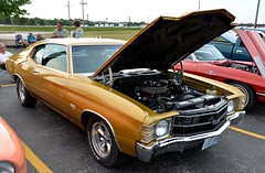 1971 Chevy Chevelle SS 454 (Adventurer Dustin Holmes) Tags: old classic cars chevrolet car 1971 automobile antique ss engine chevelle vehicles chevy vehicle motor musclecars automobiles carshow musclecar supersport 454 carshows 2014carshow 2014carshows