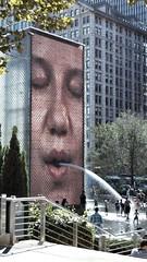 Crown Fountain (ihynz7) Tags: chicago millenniumpark crownfountain jaumeplensa explored
