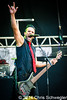 Skillet @ Rockstar Energy Drink Uproar Festival, DTE Energy Music Theatre, Clarkston, MI - 08-15-14