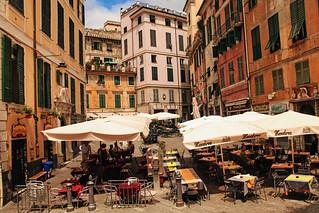 Piazza delle Erbe - Genova