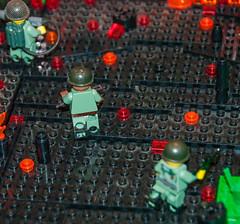 Vietnam Hill 484 (SEdmison) Tags: lego military vietnam convention bbtb bricksbythebay bbtb2014 bricksbythebay2014