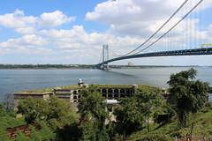 Fort Wadsworth and the Verrazano-Narrows Bridge (New York Big Apple Images) Tags: newyork statenisland fortwadsworth
