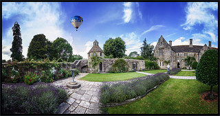 Nymans House. Pano.