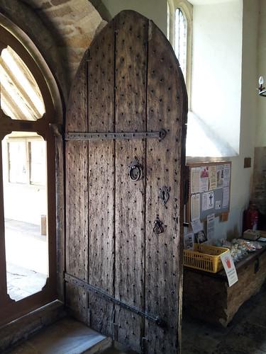The south door