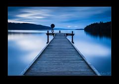 Hagudden in blue (AndersWx) Tags: longexposure blue water jetty filter le lee kil blå brygga värmland hagudden fryken canon5dmarkiii sigma50mm14art