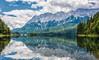 Another view to the Wetterstein Alps (mnielsen9000) Tags: lake reflection germany bavaria duck garmischpartenkirchen eibsee zugspitze mountainrange wetterstein d600 nikon2470
