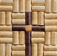 Cross Off the Wine (Rick Bolin) Tags: photography photo photographer photos cork winery corks hotplate thewineryateagleknoll minoltaaf100mmf28macro rickbolin dymamitevineyards wwwdynamitevinyardscom crossoffthewine