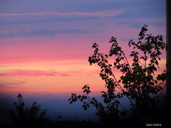 August Sunset (susanneschlotzhauer) Tags: pink sunset sky ontario colour august waterloo brilliant
