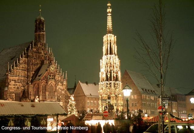 ヨーロッパのクリスマスマーケット観光