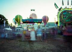 Wait your turn (CraftyMoni) Tags: carnival 120 film oregon sandy pinhole pinholephotography nbt filmphotography mountaindays zero45 ektar100 nbtculturesummer
