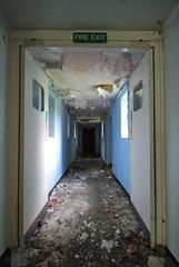 Decontamination (Sam Tait) Tags: park abandoned royal medical block airforce derelict base raf newton decontamination urbex 2014