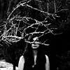 (Desataraxia) Tags: selfportrait black dark white bw nature girl branchs tree deer grave dull sullen gloomy bnw monochrome monochromatic natura naturaleza glum unlit dingy funereal dismal melancholy mournful elegiac sulk dirgelike dim somber dusky murky mourn mourning sorrowful doleful unhappy downcast grieving grief depressed depression anhedonia apathy anxiety angst innerself introspection wretched taciturn joyless dreary anxious