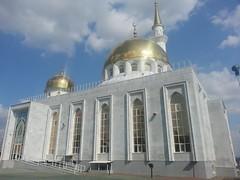 Central mosque (bibitalin) Tags: mosque kazakhstan masjid mosques  aktobe  aktjubinsk aqtobe