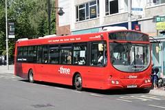 Volvo B7RLE Wright Eclipse Urban (DennisDartSLF) Tags: bus volvo first wright southampton thethree b7rle eclipseurban cityred 69392 hy09aor