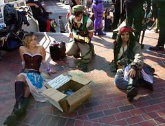 Rocking out at LBCC (Kelson) Tags: music cosplay pirates link jacksparrow lbcc longbeachcomiccon lbcc2014