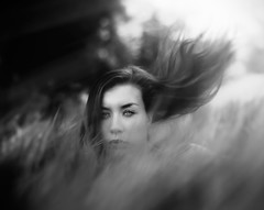 Go (Andr Varela) Tags: portrait people bw music plants plant black cold color art clouds digital canon project dark person photography death photo pain artist mood alone all darkness artistic bokeh memories pb doubt conceptual past andr mystic