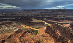 Gooseneck (Fil.ippo (AWAY)) Tags: statepark panorama water river landscape utah nikon colorado canyon canyonlands moab hdr filippo deadhorse gooseneck d7000 filippobianchi