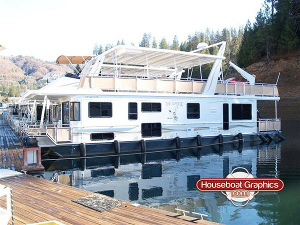 The Worlds Best Photos Of Houseboat And Houseboatgraphics - Custom houseboat graphicshouseboat graphics gallery striping