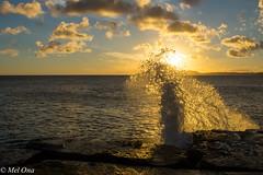Sunset over Diamond head crater (Mel Ona) Tags: sunset hawaii oahu diamondheadcrater oahuphotographytours