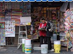 Magazine stand, Puebla, Mexico (Timothy Neesam (GumshoePhotos)) Tags: fuji fujifilm xt2 magazine reading newspapers shop sale puebla mexico pueblosmagicos