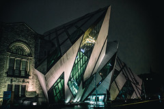 The ROM (A Great Capture) Tags: agreatcapture agc wwwagreatcapturecom adjm ash2276 ashleylduffus ald mobilejay jamesmitchell toronto on ontario canada canadian photographer northamerica torontoexplore rom royalontariomuseum museum night shot nightitme road bloorstreet downtown architecture building oldvsnew ig