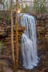 Virgin Falls Sunset (Emanuel Dragoi Photography) Tags: virginfalls tennessee whitecounty waterfall white sunset water