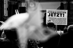 . (Thorsten Strasas) Tags: 1986 akw atomkraft ausstieg berlin brandenburg brandenburgertor demonstration euratom fukushima gau gate gendarmenmarkt havarie japan kkw kazaguruma kudngebung madworlddance mitte rede robinwood sayonaranukesberlin schild schwarzweiss solardrums transparent tschernobyl ukraine windrad anniversary banner demo desaster march nonukes nuclearpower nuclearpowerplant rally sechsterjahrestag sign speech germany de