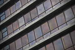 Derelict [69/365 2017] (steven.kemp) Tags: st stephens office norwich union aviva glass building derelict 1970s dutch angle concrete windows window lines empty vacant