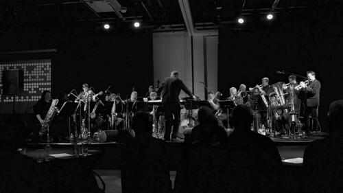 Julian Siegel Big Band. Leicester Jazz. 14th March '17. P1740911