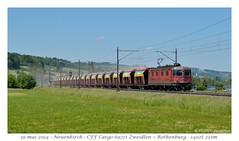 Re 6/6 11601 - Neuenkirch (CC72080) Tags: train sbb cargo locomotive cff re66 re620 neuenkirch