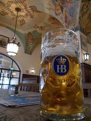 Bier (schremser) Tags: münchen bayern deutschland bier mass glas krug hofbräuhaus hofbräu bierglas masskrug bierkrug