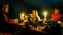 В палатке на озере Манасаровар в Тибете