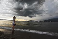 Waiting (masud_rana039) Tags: park longexposure sea storm beach vancouver clouds dark boats coast waiting englishbay vanier maritimemuseum kasia hadden janusz leszczynski