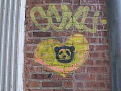 IMG_5276 (Mud Boy) Tags: nyc streetart newyork graffiti stencil panda heart manhattan soho