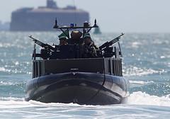 Commando Assault (Bernie Condon) Tags: boats boat military attack assault rib dday commando rm royalmarines