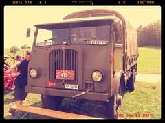 FBW AX 35M 1956-58 (v8dub) Tags: rio truck army schweiz switzerland airport suisse d military meeting m camion 1958 1957 1956 fribourg ax freiburg 35 militaire arme militr lkw aroport lastkraftwagen arodrome fbw cuvillens