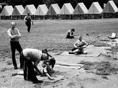 Secret Training Camp of Czech Communists Unveiled! 03 (Kojotisko) Tags: people bw person czech brno cc creativecommons czechrepublic persons fujifilmfinepix fujifilmfinepixsl1000 zouvalka2014 fujifilmfinepixsl1000kojotisko
