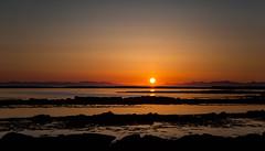 Sunset in Akranes (*Jonina*) Tags: sunset sky reflection iceland 500views ísland himinn akranes speglun sólsetur 50faves 1500views 25faves jónínaguðrúnóskarsdóttir