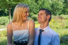 Engagement shooting: good models - bad photographer :) (_Dadita_) Tags: wedding engagement shooting strobist