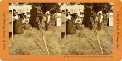 Cross-View 3D (Zane's Photography) Tags: 3d civilwar reenactment fortstevens reenactors crossview northwestcivilwarcouncil fujifilmfinepixreal3dw3