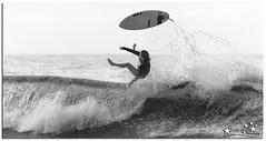 The End Result (Brett Huch Photography) Tags: ocean sea bw beach water surf waves surfer australia surfing qld queensland aussie coolangatta goldcoast snapperrocks wavesbreaking
