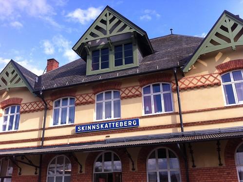 Skinnskatteberg station